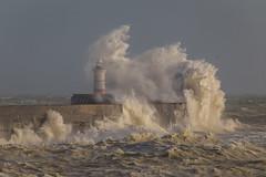 Storm Eleanor - Newhaven