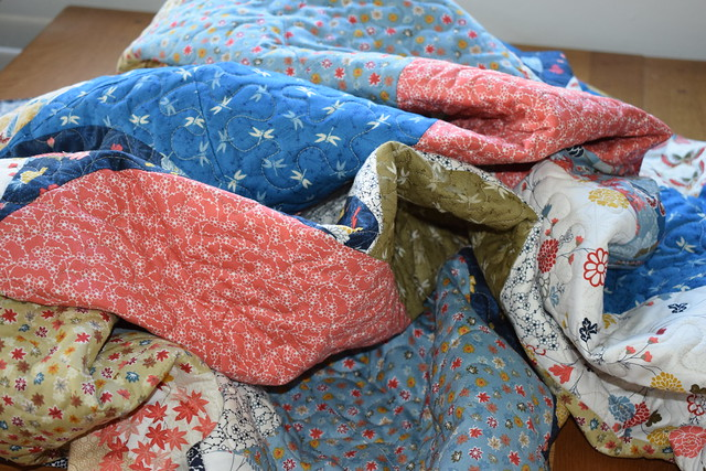 Oriental Clamshell Quilt (Popular Patchwork Jan18)