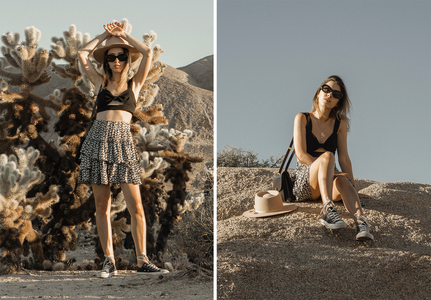 joshuatreepark_highwaistedskirt_lackofcolor_hat_thezulu_celinebox_california_blogger_22
