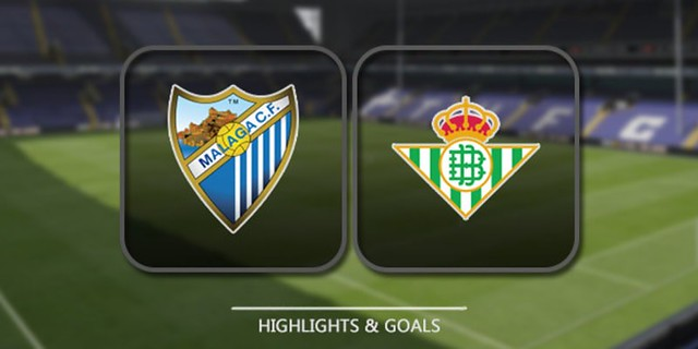 Cuplikan Gol – Malaga 0-2 Betis (18/12/2017) – Liga Spanyol
