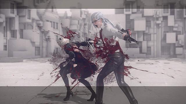Nier Automata - Sangre y tripa