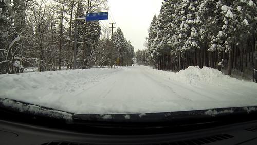 #リーフの車窓から 西蔵王高原ライン