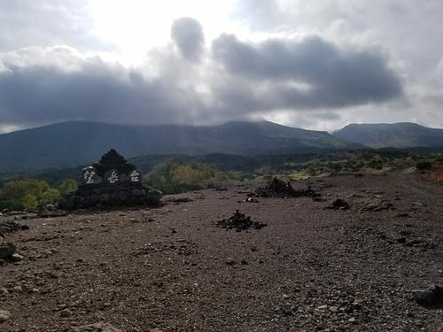望岳台から