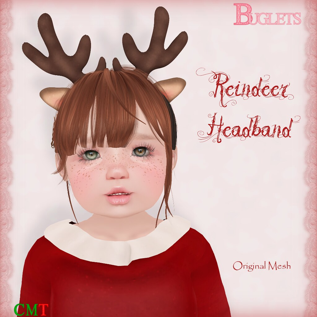 Reindeer Headband AD