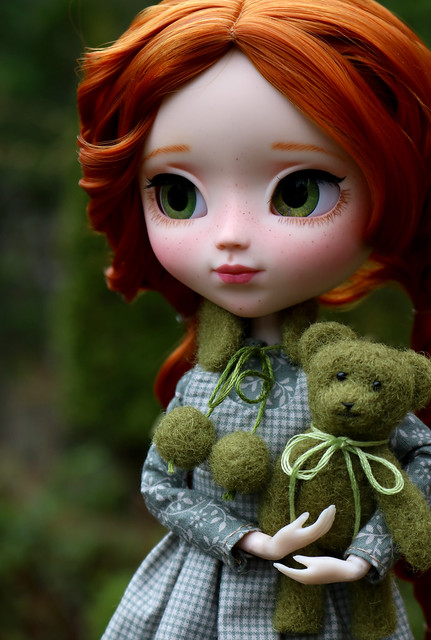 Anne with bear