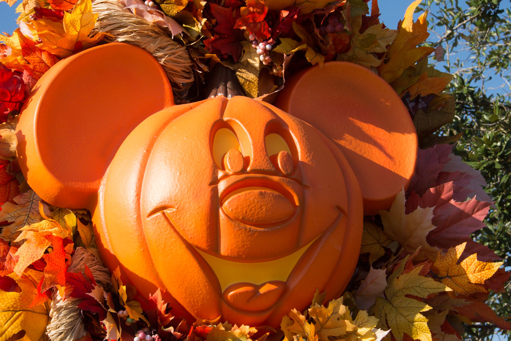 Mickey Mouse Pumpkin at Disney