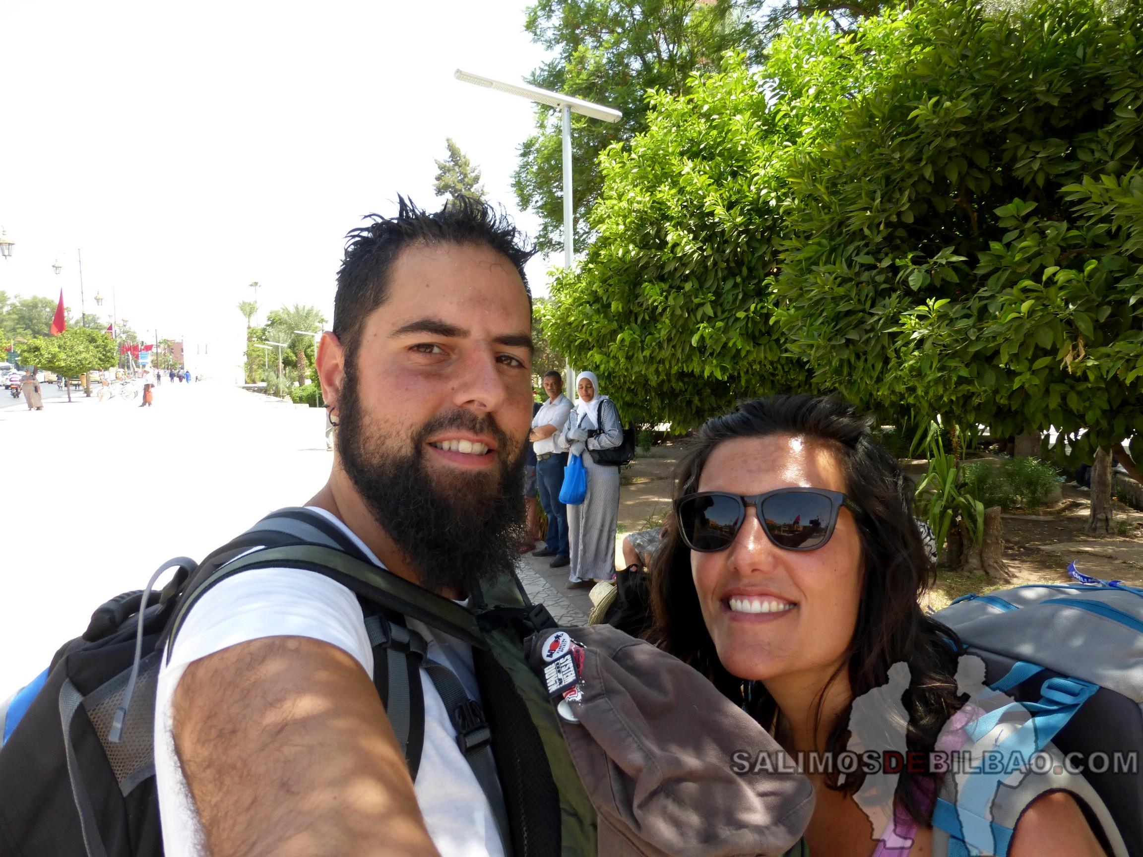 754. Katz y Saioa, Marrakech