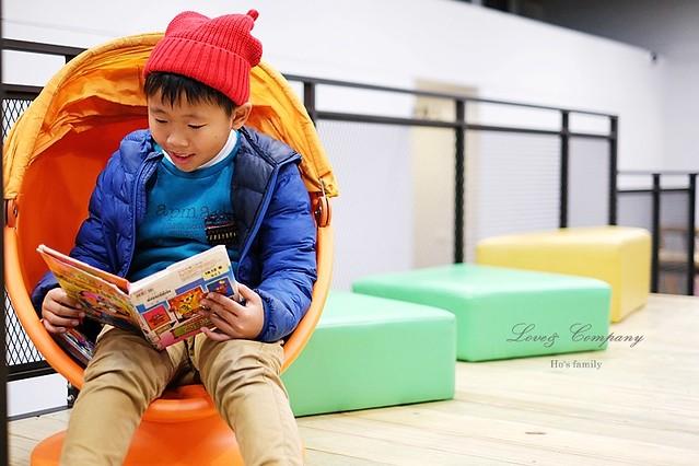 【台北親子免費景點】新北市立圖書館江子翠分館兒童室15