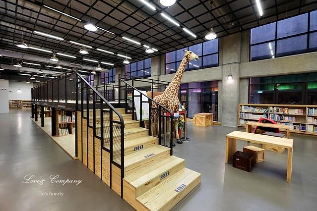 【台北親子免費景點】新北市立圖書館江子翠分館兒童室6