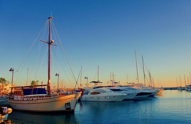 Winter Afternoon - Limassol Marina, Cyprus