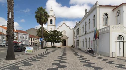 Piazza di Vagos, tra Aveiro e Coimbra