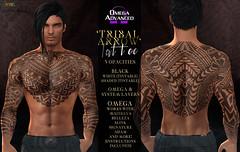 -Nivaro- 'Tribal Arrow' Tattoo Advert