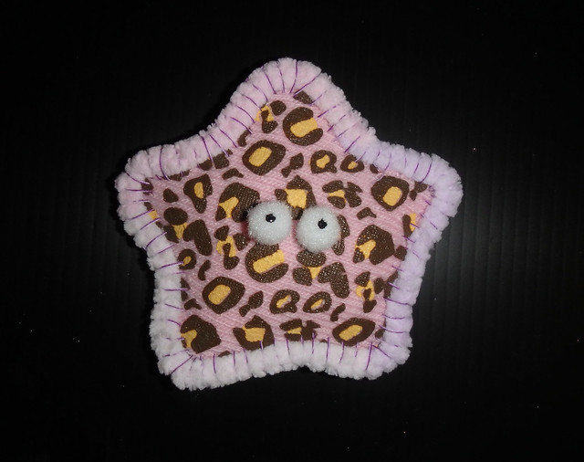 How to make plushie sea stars