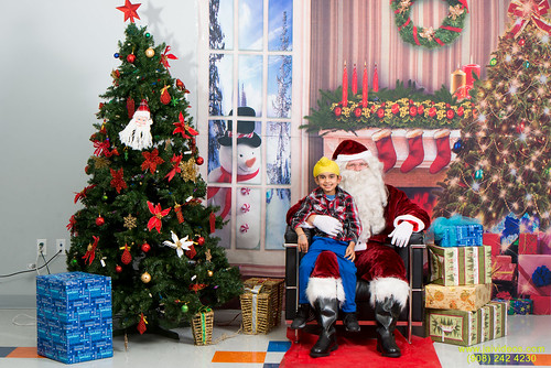 Santa at Teecs-96