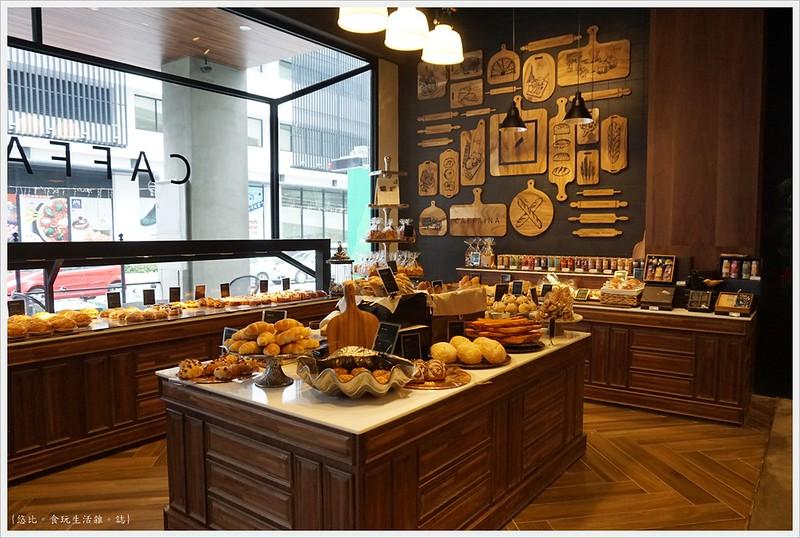 卡啡那CAFFAINA 大墩店-27-麵包區