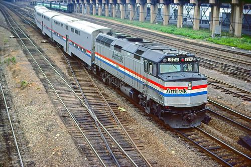 Amtrak F40PHR 374