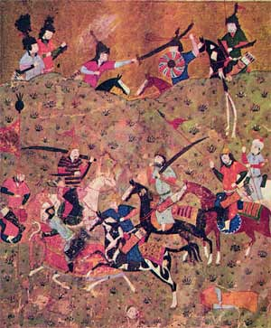 Battle of Dandanaqan from unknown source and unknown date