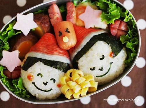 Рождественская кухня в Японии