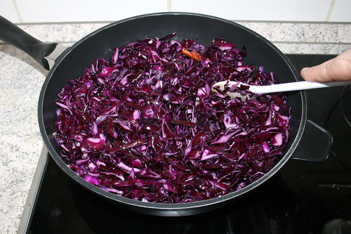 43 - Rotkohl andünsten / Braise red cabbage