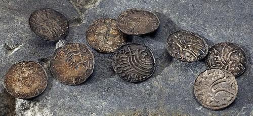 Gresseli hoard coins