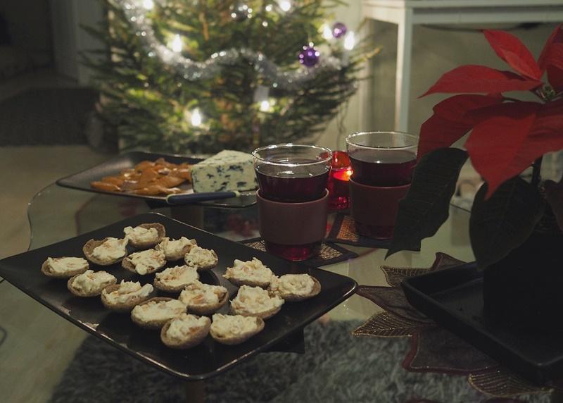 joulupäivän iltaherkut