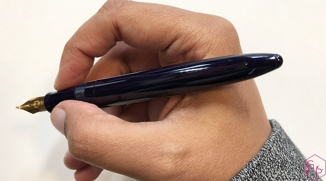 Review Sailor 1911 Fude de Mannen Fountain Pen @ThePenCompany 7
