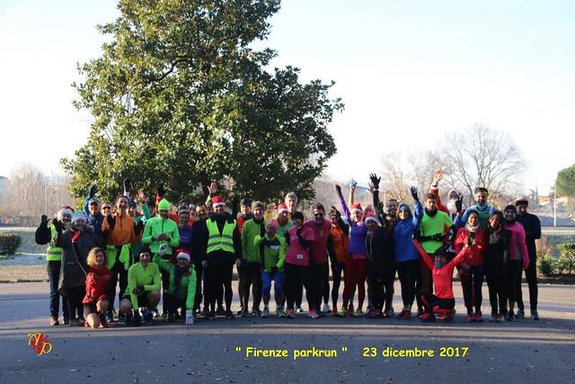 Firenze parkrun n. 13 - 23/12/2017