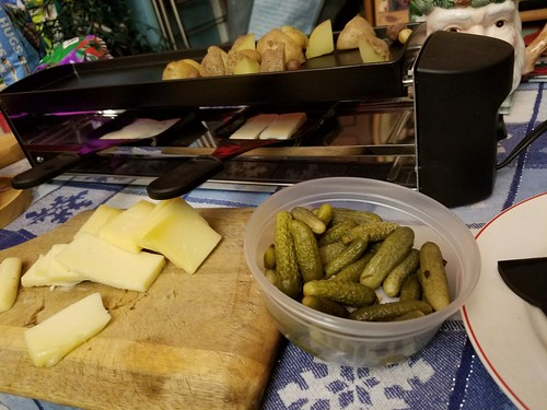 Russian Christmas Raclette