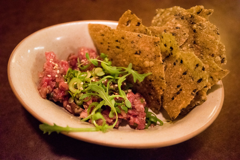 State Bird Provisions- Fillmore District, San Francisco, CA: Beef Tartare