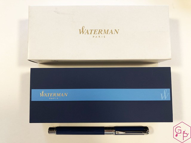 Review Waterman Perspective Fountain Pen @KnightsWritingC 1