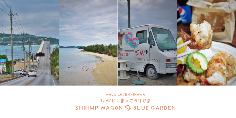 屋我地島+古宇利大橋+蝦餐車(shrimpwagon)+Bluegarden文章大圖