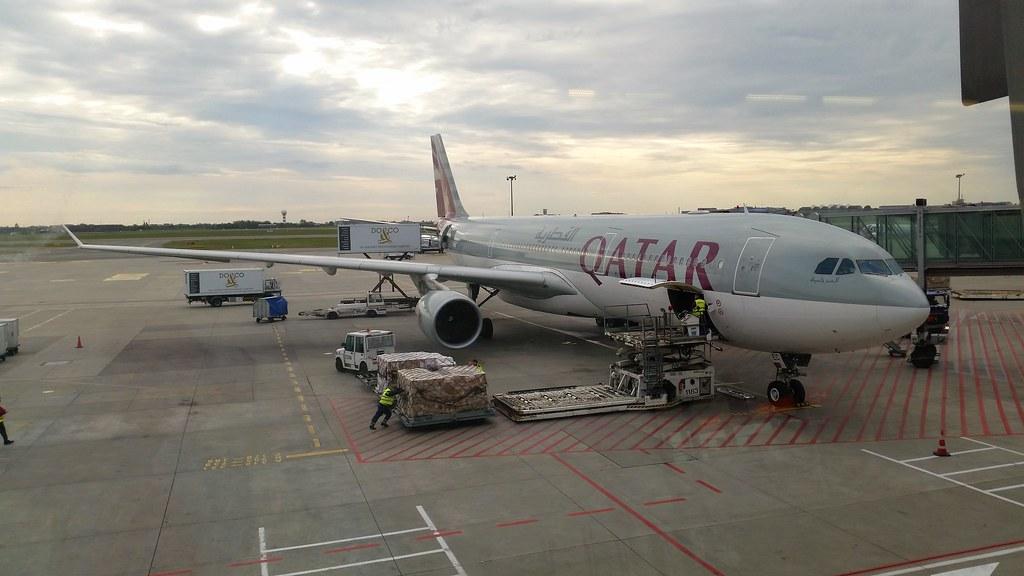 Qatar Airways, wylot z Warszawy