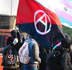 Patriot Prayer vs Antifa protests.  Photo 11 of 14