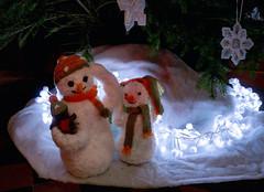 Snowmen lights