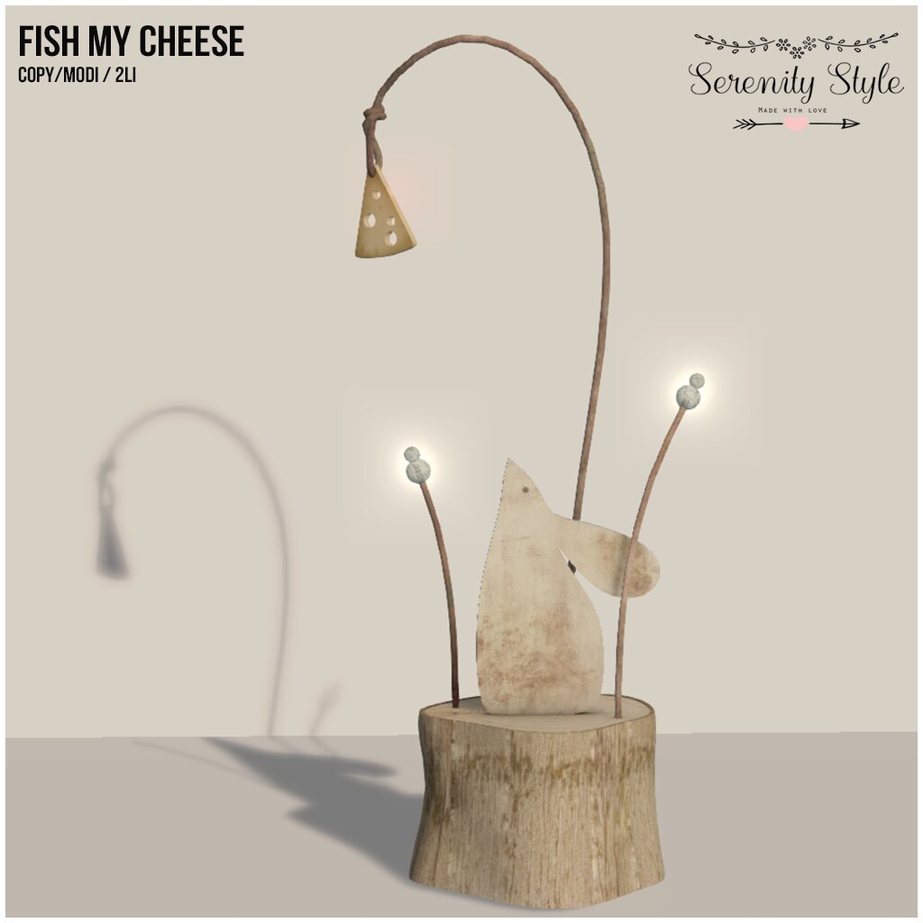 Serenity Style- Fish my cheese