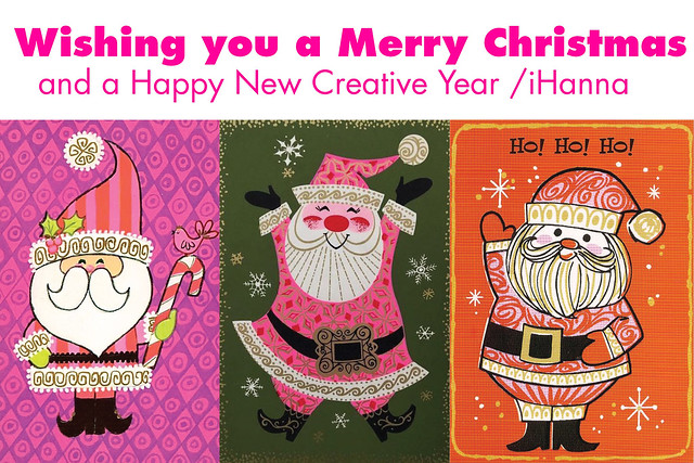 Vintage Santa Christmas printable for my Newsletter