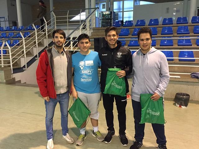 Clausura curso baloncesto Los Yébenes (Diciembre 2017)