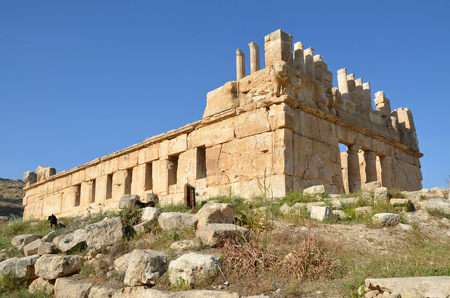 Qasr Al-Abd, Hellenistic palace dating from approximately 200 BC, Jordan