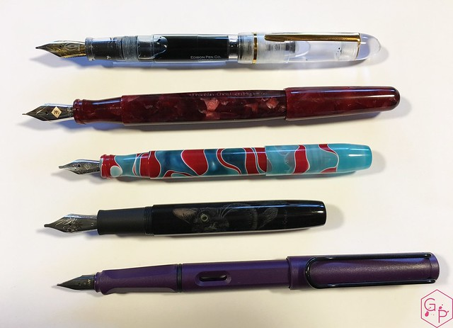 Review Franklin-Christoph Model 66 Fountain Pen Needlepoint Nib @1901FC 3