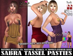 SABRA TASSELL PASTIES PIC