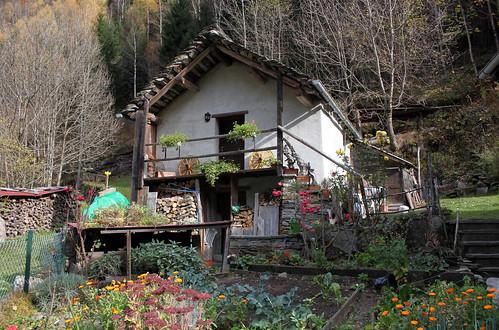 Arvigo - Dorfteil De la del Pont