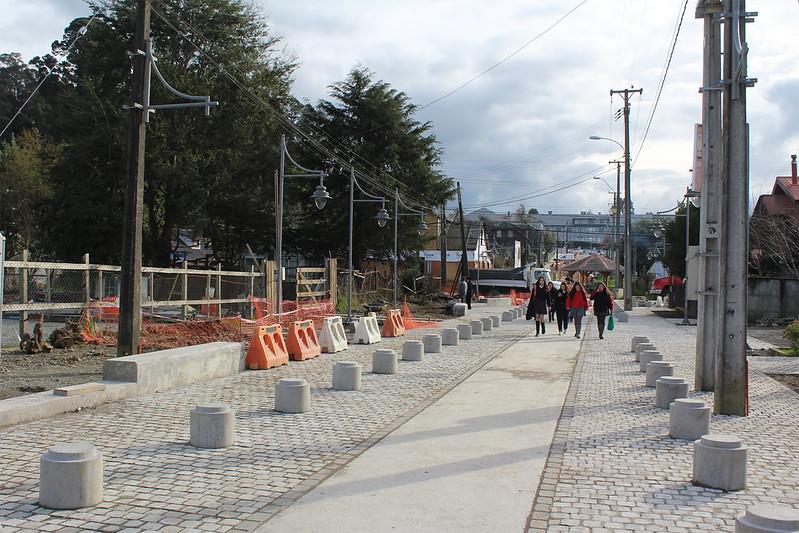 Mejoramiento de circulación peatonal - Barrio Patrimonial – Puerto Varas