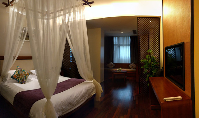 our 3rd floor room @ SSAW Boutique Hotel Shanghai Bund