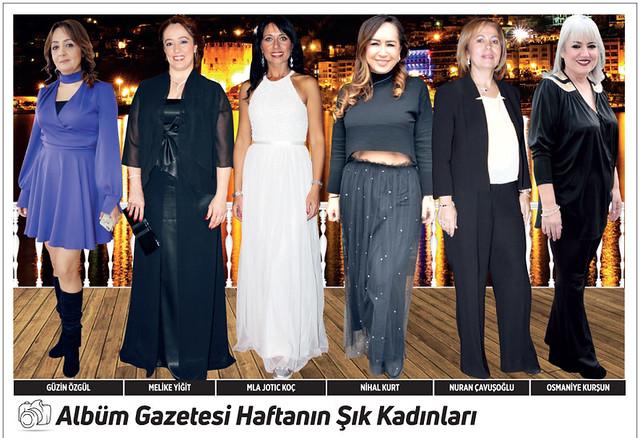 Güzin Özgül, Melike Yiğit, Mila Jotic Koç, Nihal Kurt, Nuran Çavuşoğlu, Osmaniye Kurşun
