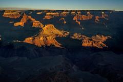 1712 Grand Canyon Sunrise near Yavapai Point