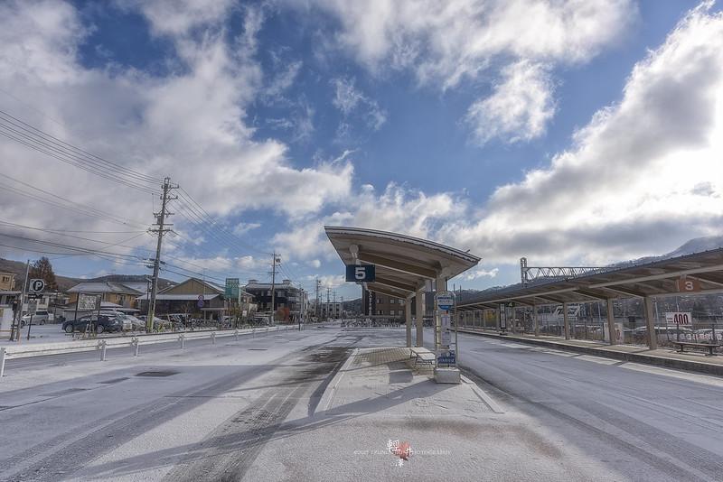 輕井澤車站旁