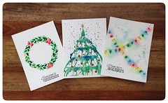 More holiday cards! #watercolor #holiday #christmas #solstice #cards #merrychristmas #happyholiday #art