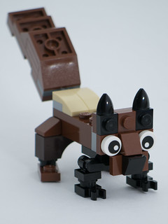 """Christmas Build-Up 2017 Day 22 MOC """"Squirrel!"""""""
