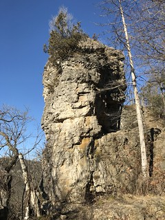 Chimney Rock at White Water State Park