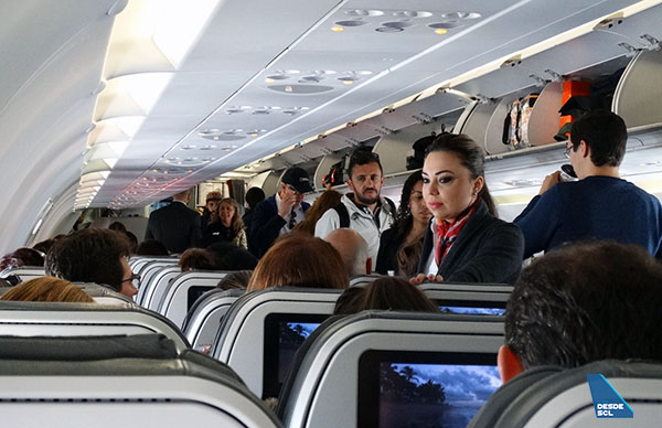 Avianca Brasil pasajeros embarque (RD)